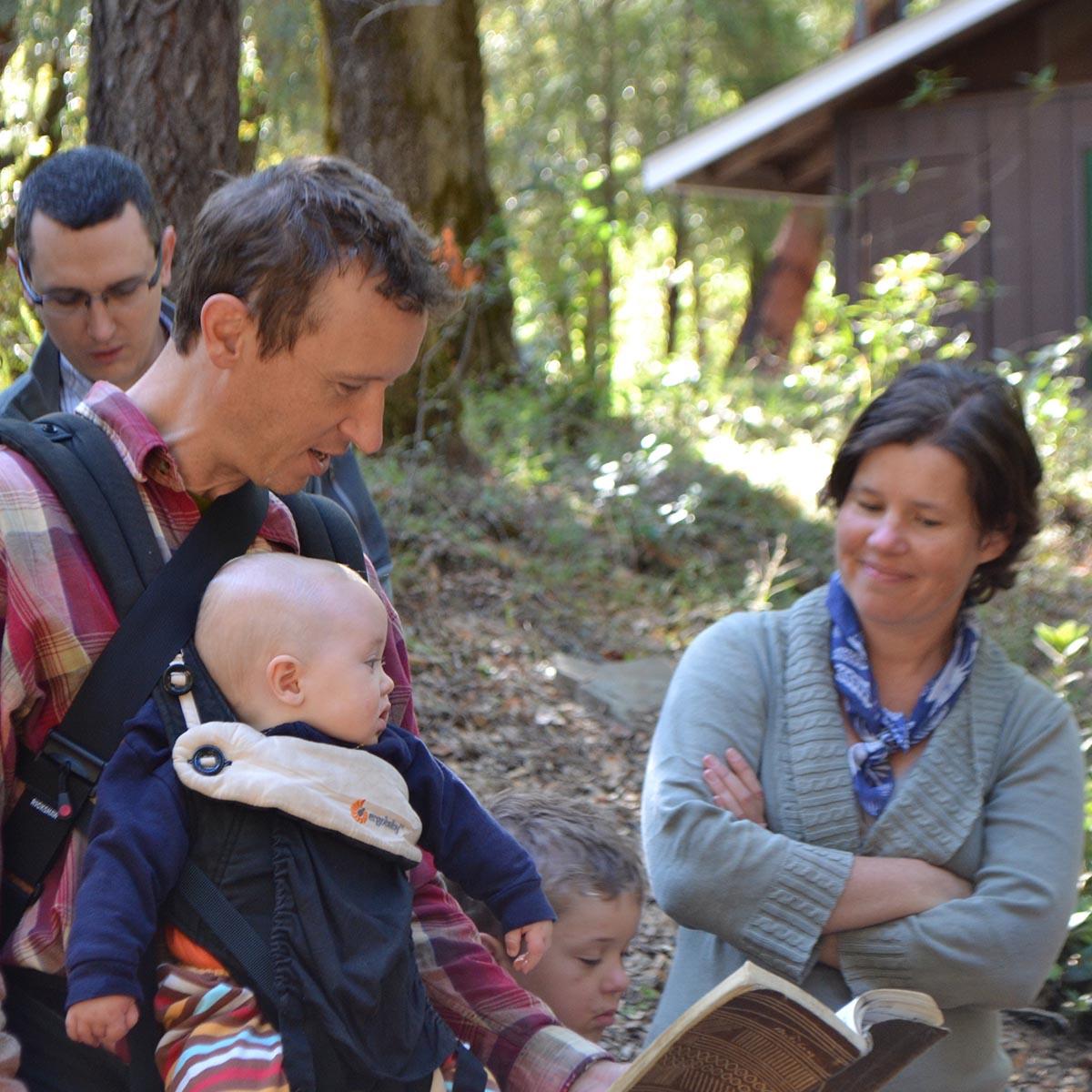 Singing Along At Family Camp